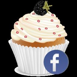 Facebook Cup Cake-256x256